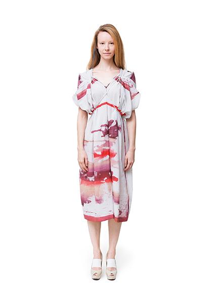 Frauenmode aus Berlin von cneeon Look 04 aus der Fashion Kollektion SS 2014
