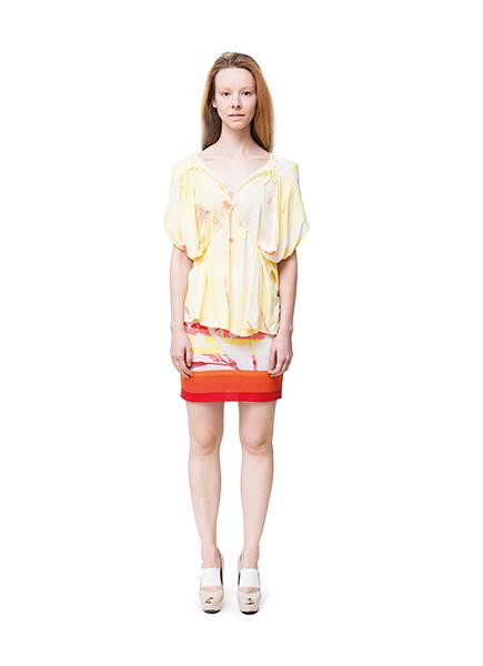 Frauenmode aus Berlin von cneeon Look 08 aus der Fashion Kollektion SS 2014