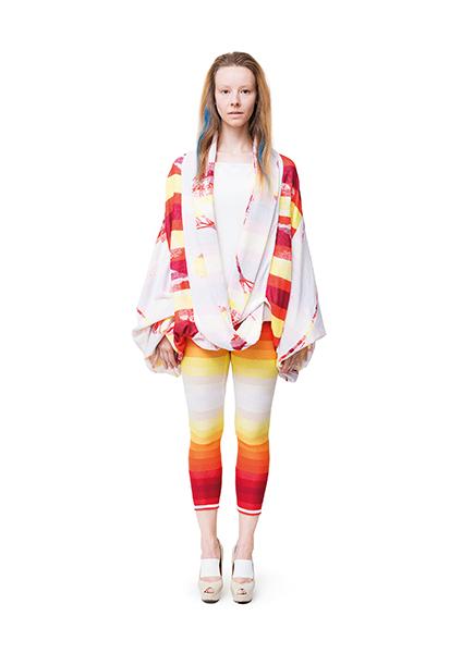 Frauenmode aus Berlin von cneeon Look 11 aus der Fashion Kollektion SS 2014