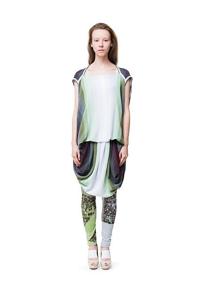 Frauenmode aus Berlin von cneeon Look 26 aus der Fashion Kollektion SS 2014