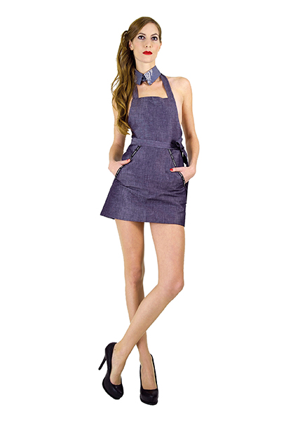 Frauenmode aus Berlin von thatchers Dress Basic apron der Fashion Kollektion SS 2014