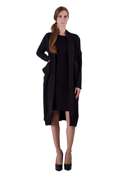 Frauenmode aus Berlin von thatchers Classic Coat moonstruckder Fashion Kollektion SS 2014