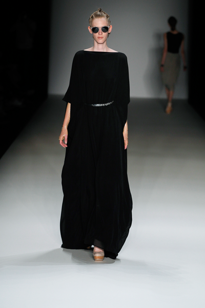 CIRCUS of FASHION SS14 Ore Mountains Dress Black Tomaszewski