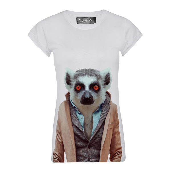 CIRCUS of FASHION SS2014 Saint Noir Shirt Lemur