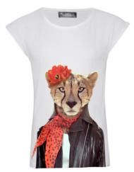 CIRCUS of FASHION SS 2014 Saint Noir Shirt Gepard