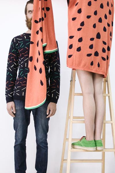 CIRCUS of FASHION Potipoti Watermelon Scarf Blanket Foto Maya Kapouski