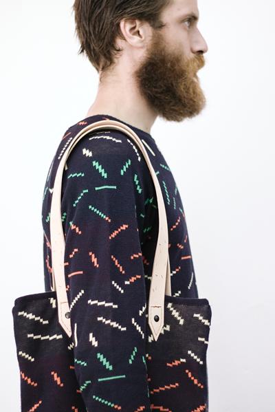CIRCUS of FASHION Potipoti Tote Bag Stripes Foto Maya Kapouski