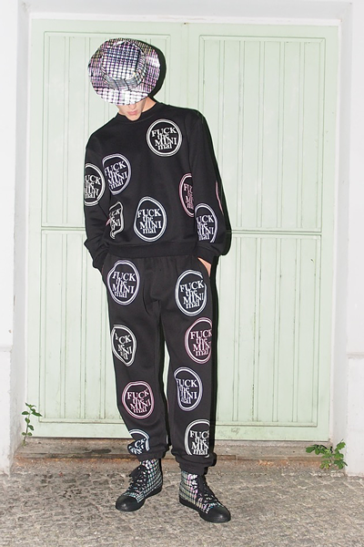 CIRCUS of FASHION Starstyling SS2014 FTM All over Sweater | Jogger