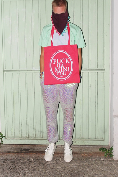 CIRCUS of FASHION Starstyling SS2014 Finger Tip Joggers | FTM Bag