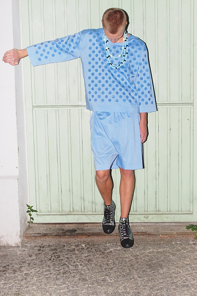 CIRCUS of FASHION Starstyling SS2014 Drop Longsleeve | Water Shorts
