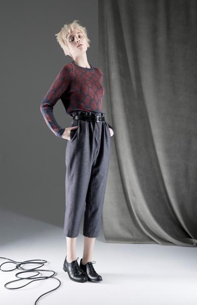 CIRCUS of FASHION ANTONIA GOY AW2014 Foto Schah Eghbaly Sweater Jeans - Mode aus Berlin