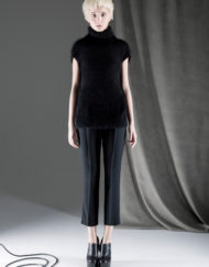 CIRCUS of FASHION ANTONIA GOY AW2014_15 Foto Schah Eghbaly Angora Turtleneck Top Woollen Pants - Mode aus Berlin