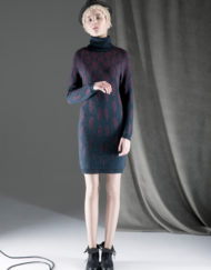 CIRCUS of FASHION ANTONIA GOY AW2014_15 Foto Schah Eghbaly Knitted Serpentine Dress - Mode aus Berlin