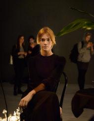 CIRCUS of FASHION BAGAZ AW 2014_15 Foto Rene Hoppe Langes Kleid - Mode aus Berlin