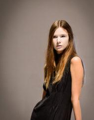 CIRCUS of FASHION - BAGAZ AW 2014_15 Foto Rene Hoppe Langes Kleid - Mode aus Berlin
