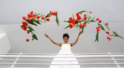 CIRCUS of FASHION Mode aus Berlin Kaska Hass AW 2014_15 Braut Robe Aphrodite Foto Ron Gerlach