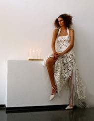 CIRCUS of FASHION Kaska Hass AW 2014_15 Braut Spitzenkleid Germaan Foto Ron Gerlach
