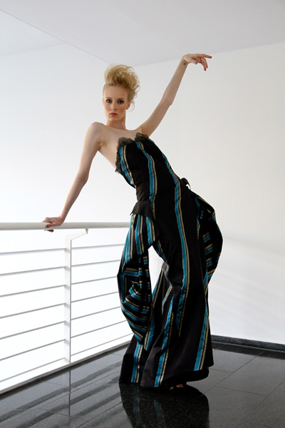 CIRCUS of FASHION Mode aus Berlin Kaska Hass AW 2014_15 Gala w Abendrobe Labeau