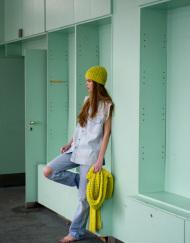 CIRCUS of FASHION Mode aus Berlin Maiami AW 2014_15 Foto Kristin Loschert Irinas Cap & Scarf