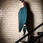 CIRCUS of FASHION Mode aus Berlin Weimann AW 2014/15 Foto Oliver Pink Jerseykleid