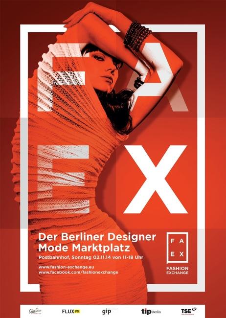 CIRCUS of FASHION - Fashion Exchange Poster 2014
