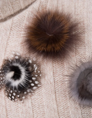 CIRCUSofFASHION Frozen Hibiscus AW2014 Foto P. Burbank Pins with fur