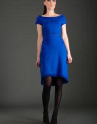 CIRCUS of FASHION Mode aus Berlin JANNA LENARTZ- Dress sparkling blue Foto Bernhard Volkwein _DSC6961