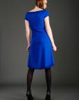 CIRCUS of FASHION JANNA LENARTZ- Dress sparkling blue Foto Bernhard Volkwein _DSC7003