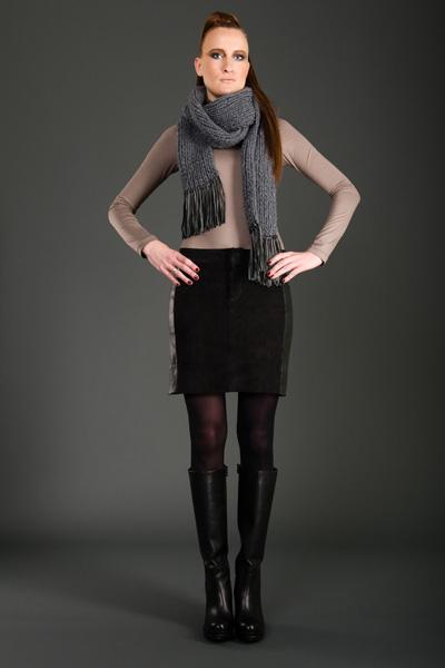 CIRCUS of FASHION Mode aus Berlin JANNA LENARTZ- Lederrock love me Bernhard Volkwein _DSC6122-2