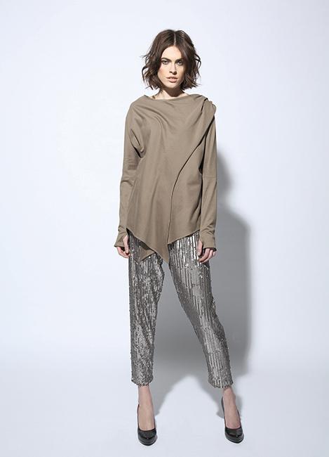 Circus of Fashion Mode aus Berlin Firma Berlin Blouse + Pants AW 2014/15- Foto Martin Mai