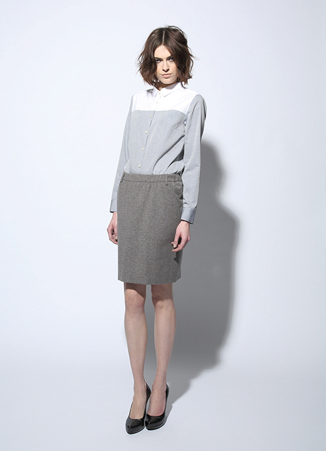 Circus of Fashion - Firma Berlin Blouse + Skirt AW 2014/15 Foto Martin Mai