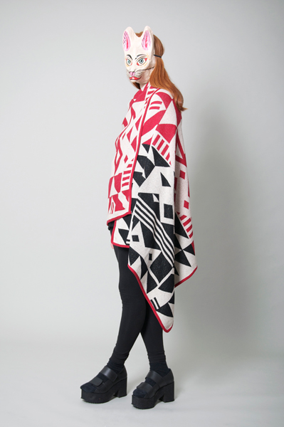 CIRCUS of FASHION Mode aus Berlin Poti Poti Big Scarf Blanket AW14_15 - 13